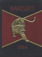 Bartlett TN Nicholas Blackwell High School yearbook 1984 Tennessee