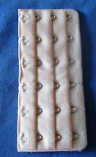 Bra Extender  Ladies Bra Extension Strap 6 HOOKS-  3 Positions - NUDE / BEIGE
