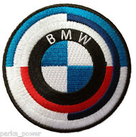BMW iron on patch, 70's/80s, embroidered, German automaker, car enthusiast