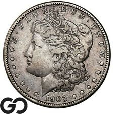 1903-S Morgan Silver Dollar Silver Coin, Better Date San Francisco Issue