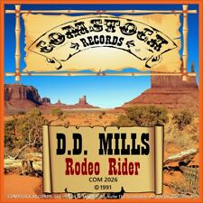 "7"" D. D. Mills RODEO Rider Michael Mikulka Country Comstock 45 tr/min US-PRESS 1991"