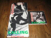 The Clash London Calling longbox and Original cd! -Rare! Sex Pistols