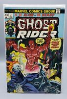 Ghost Rider # 2 -  1st app Son of Satan Helstrom HULU tv series - VF +