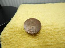 Vtg.Old Coin 1935 Georgivs V Dei Gra:Britt:Omn:Fid:Ind:Imp: One Penny