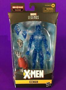"Marvel Legends: Age of Apocalypse | Iceman (X-Men Colossus BAF) 6"" Action Figure"