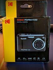 Kodak PIXPRO FZ43 16 MP HD Video 4X Optical Zoom AA Battery Digital Camera Black