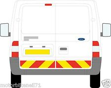 Ford Transit van Chapter 8 / Reflective Rear Lower Chevron Graphic kit  decal