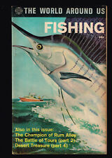 World Around Us FISHING Classics Illustrated   3 or more comics = free shipping