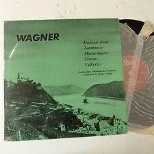 Lp Wagner exerpts Amsterdam Phil-Hugo grautz