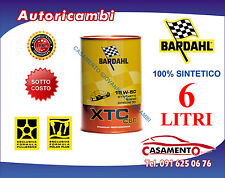 6 LT LITRI OLIO MOTORE AUTO BARDAHL XTC C60 15W50 POLAR PLUS FULLERENE