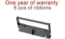 6 printer ink ribbon cartridge for Toshiba TEC DPR-242 DPR-245 POS Cash Register