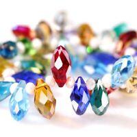 Beads For Jewelry Making Ears Teardrops Design Ladies Crystal Diy Glass Earrings