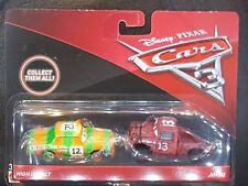 DISNEY PIXAR CARS 3 HIGH IMPACT JIMBO 2 PACK 2017 SAVE 5% WORLDWIDE FAST SHIP
