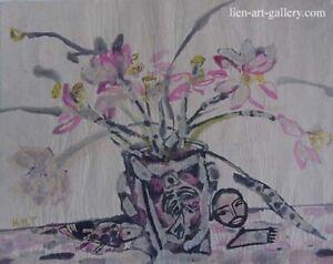 Flower   Watercolor painting Hoang Ha  Tung VUFA alumni & Painters ...
