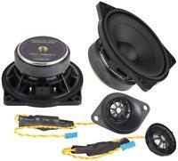 Ground Zero Custom Front Component Speakers Upgrade Fits BMW X5 E70