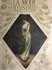 Edwardian MODE ILLUSTREE Dec 29,1912+ sewing PATTERN - Masquerade, evening dress