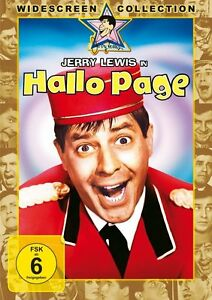 DVD JERRY LEWIS - HALLO PAGE - SLAPSTICK-KLASSIKER *** NEU ***