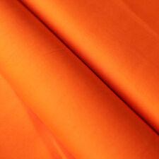 Baumwollstoff UNI Farbe Orange 100% Baumwolle einfarbig