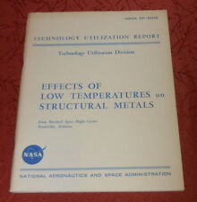 NASA SP-5012 Effects Low Temperatures Structural Metals 55 pages 1964