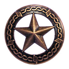 Western Concho Antique Copper Star Upholstery Tack.Nail 3/4""