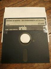 Jeu Atari 800 XL / 130 XE - CAVERNS OF KHAFKA - Ariolasoft