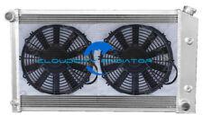 Aluminum radiator for 1970-1981 Pontiac Trans AM Firebird 3.8-7.5L V8 3ROW +Fans
