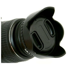 55mm Tulip Flower Lens Hood For Sony DSC-HX300 HX300 Digital Camera Shade H400
