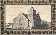 MINOT, ND Methodist Church, North Dakota Vintage Postcard 1911