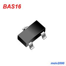 10x Diodo SMD BAS-16 BAS16 A6 Alta Velocidad SOT-23 - HIGH SPEED DIODE SMT