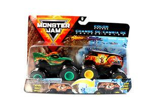 Monster Jam Color Change 1:64 Truck 20129376 Dragon - ThunderBus  2er-Pack