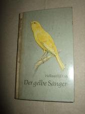 Der gelbe Sänger,H.Dost,1967,Wellensittiche und Kanarienvögel,DDR,Bild.s.Text