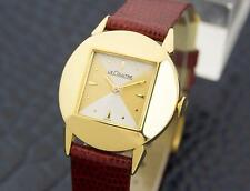 LeCoultre Vintage Swiss Made Mens 10K Gold Filled Manual Wind Watch c1960s 6040