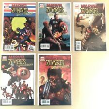 Marvel Zombies Vs. Army of Darkness Full Set 1 - 5 Ash Williams vs. Marvel