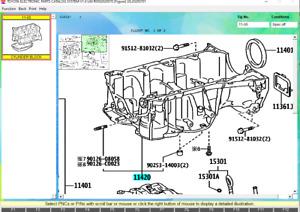 Genuine Lexus Toyota Engine Oil Crankcase Assembly Stiffening OEM