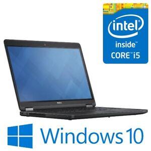 """Dell Latitude E5470 Intel i5 6300U 8G 240G SSD WiFi 14"""" LED HDMI Win 10 Pro"""