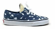 Vans Unisex Authentic Dinosaur Skate Shoes Chambray White Mens 4 Womens 5.5
