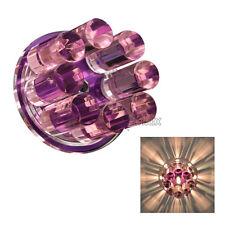 Kristall Decken-Einbaustrahler Einbauleuchte Downlight Einbauspots 12V G4
