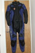 WOLF Two Piece Leather Motorcycle Suit 46