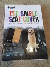 Pet Single Car Seat Cover- Brand New!