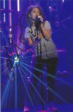 MUSIC* ALESSIA CARA SIGNED 6x4 ACTION PHOTO+COA *HERE* *KNOW-IT-ALL* *STAY*