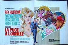 FLEA IN HER EAR LA PUCE A L'OREILLE Belgian movie poster REX HARRISON RAY Art