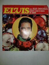 ELVIS Blue Christmas / Santa Claus Is Back In Town RCA 0647 45 PICTURE SLEEVE ON