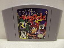 NINTENDO 64 BANJO-KAZOOIE GAME CARTRIDGE ONLY