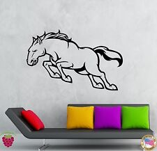 Wall Stickers Vinyl Decal Animal Horse Mustang Decor For Living Room (z2077)