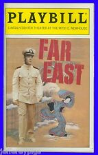 "Playbill "" Far East "" Lisa Emery , Michael Hayden , Sonnie Brown, Connor Trinner"