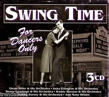 Swing Time Dancers Only 3CD Box Classic 40s 50s Pop Duke Ellington Artie Shaw