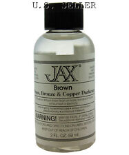 Antique Brown Finish For Brass,Copper, Etc 2 oz Bottle By Jax