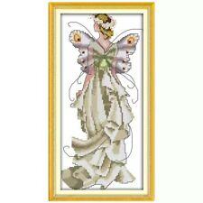 JOY SUNDAY SPIRIT OF FLOWERS cross stitch Kit 14ct Size 18 x 35 cn BNIP