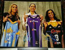 BRITTNEY GRINER signed auto 11x14 photo Elena Delle Donne Skylar Diggins WNBA