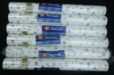 Trailing Fruit Pear Apples Grapes Wallpaper Norwall #Cn24598 (Lot of 6 Dbl Rls)